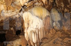 奠边省辉刚、辉答洞穴——大自然的杰作(组图)