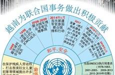图表新闻:越南为联合国事务做出积极贡献