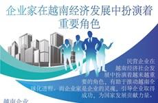 图表新闻:企业家在越南经济发展中扮演着重要角色
