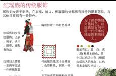 图表新闻:红瑶族的传统服饰