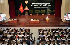 第九届胡志明市人民议会第12次会议正式开幕