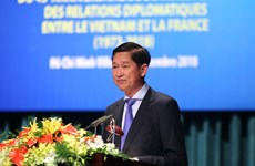 胡志明市与法国各地方进一步提升合作层次和水平