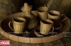 越南茶荣省茶句县大安乡的传统竹编行业(组图)