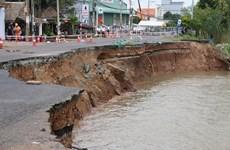 安江省91号国道和946号省道存在坍塌高风险  (组图)