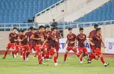 2022年世界杯亚洲区预选赛第二轮比赛:越南队的赛前集训(组图)