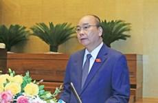 越南政府总理阮春福:主动制定经济社会短期和长期发展预案