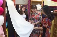 努力打造越南制丝绸品牌——万福丝绸