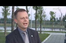 越德企业合作推动两国净水行业发展