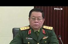 越中两国加强军事合作