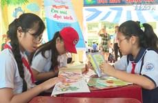 胡志明市努力培养孩子的阅读习惯