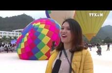 第二届国际热气球节在山罗省举行