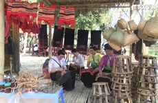 羊蹄甲花节:山区集市吸引游客的关注