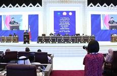 阮氏金银出席各国议联第140届大会全体会议并发表重要讲话