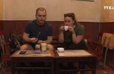 河内鸡蛋啤酒颇受国际友人与媒体的称赞