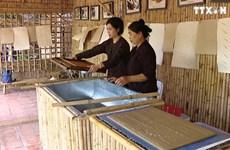 宣纸制作业——越南悠久的传统手工艺业