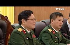 越南国防部与日本防卫部举行会谈