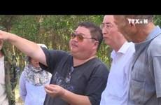 富安省发现许多四世纪占婆族文物