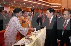 推动越南与中东和非洲各国的合作走向深入务实