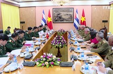 进一步加强越南与古巴的防务合作