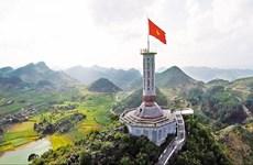 龙鼓国家旗台  越南国家领土主权的象征