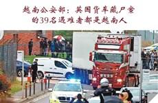 图表新闻:越南公安部:英国货车藏尸案 的39名遇难者都是越南人