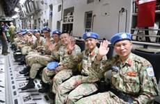 越南二号二级野战医院启程赴南苏丹执行任务