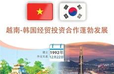 图表新闻:越南-韩国经贸投资合作蓬勃发展