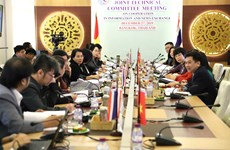 组图:越南通讯社与泰国公共关系部大力加强合作