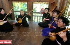 宣光省提高艺术培训班活动效益   努力保护天曲艺术