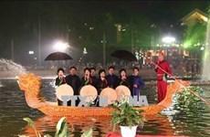 北宁省通过各项文化活动   充分发挥官贺民歌价值