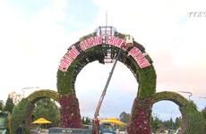 大叻市为花卉节做出充分的准备