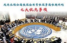 图表新闻:越南在联合国安理会非常任理事国任期内的七大优先事项