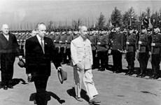 组图:越俄建交70周年:两国关系基础牢固  前景广阔