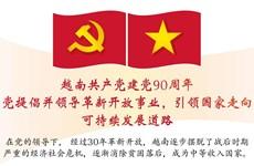 图表新闻:越南共产党建党90周年:党提倡并领导革新开放事业,引领国家走向可持续发展道路