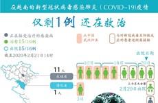 图表新闻:越南仅剩1例新冠肺炎患者还在救治