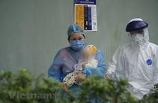 组图:感染新冠肺炎的三个月大宝宝已治愈出院