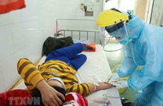 组图:奋战在永福省平川县疫情一线的战士