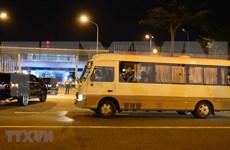 组图:越南连夜将20名韩国游客运送回国
