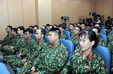 组图:越南三号二级野战医院正式成立