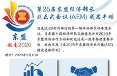 图表新闻:第26届东盟经济部长非正式会议 (AEM) 成果丰硕