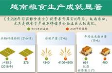 图表新闻:越南粮食生产成就显著