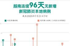 图表新闻:越南连续96天无新增新冠肺炎本地病例