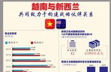 图表新闻:越南与新西兰共同致力于构建战略伙伴关系