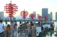 新冠肺炎疫情:岘港市居民与游客仍保持平静的心态