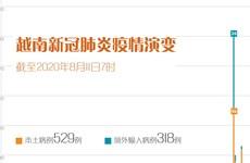 图表新闻:截至2020年8月11日7时的越南新冠肺炎疫情演变