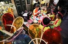 组图:升龙皇城举行庆中秋活动