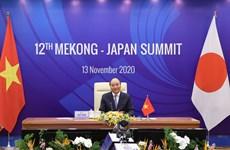 组图:第12届湄公河流域国家与日本峰会以视频形式举行