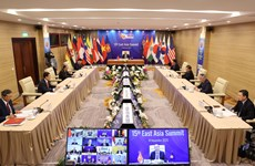组图:第15届东亚峰会线上召开