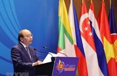 组图:政府总理阮出席东盟打击跨国犯罪部长级会议