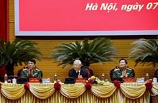 组图:越共中央总书记、国家主席阮富仲出席2020年全军军政会议